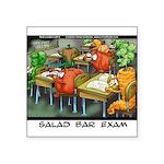 Salad Bar Exam Square Sticker 3