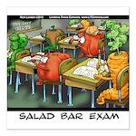 Salad Bar Exam Square Car Magnet 3