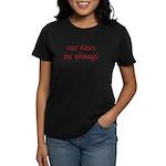 Ubi amo, ibi patria. Red Women's Dark T-Shirt