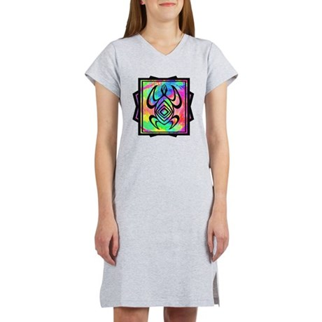 Tiedye Turtle Women's Nightshirt