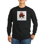 Bear pants Long Sleeve Dark T-Shirt