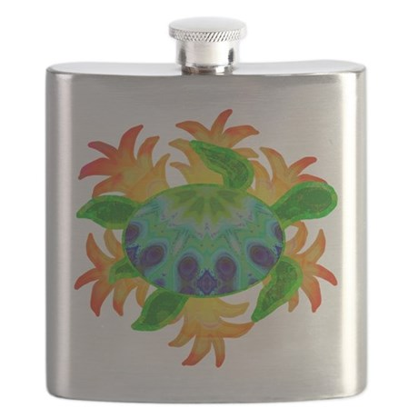 Flame Turtle Flask