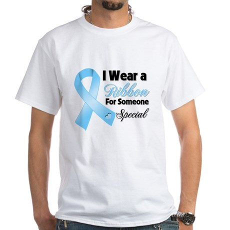 Special Prostate Cancer White T-Shirt