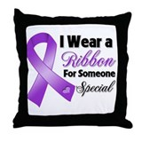 Special Pancreatic Cancer Throw Pillow