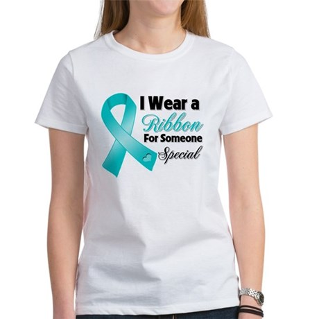 Special Ovarian Cancer Women's T-Shirt