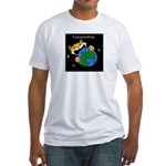 It eat everything Fitted T-Shirt