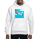 Everyone goes up to the sky Hooded Sweatshirt