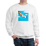Everyone goes up to the sky Sweatshirt