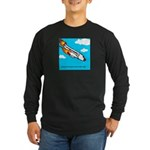 Everyone goes up to the sky Long Sleeve Dark T-Shi