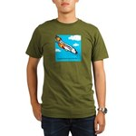 Everyone goes up to the sky Organic Men's T-Shirt