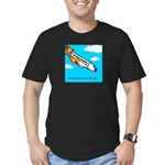 Everyone goes up to the sky Men's Fitted T-Shirt (