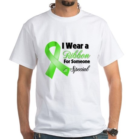 Ribbon Special Lymphoma White T-Shirt