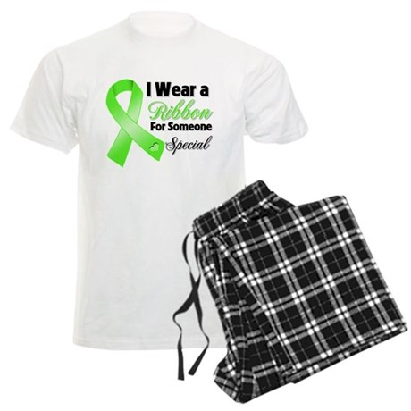 Ribbon Special Lymphoma Men's Light Pajamas