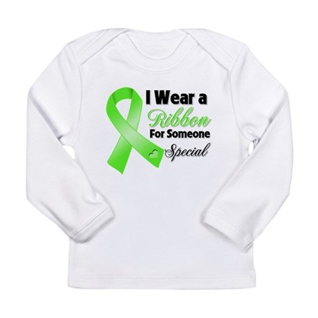 Ribbon Special Lymphoma Long Sleeve Infant T-Shirt