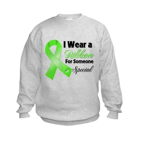 Ribbon Special Lymphoma Kids Sweatshirt