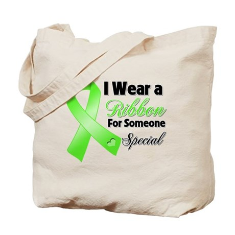 Ribbon Special Lymphoma Tote Bag
