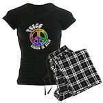 Peace Always in Style Women's Dark Pajamas