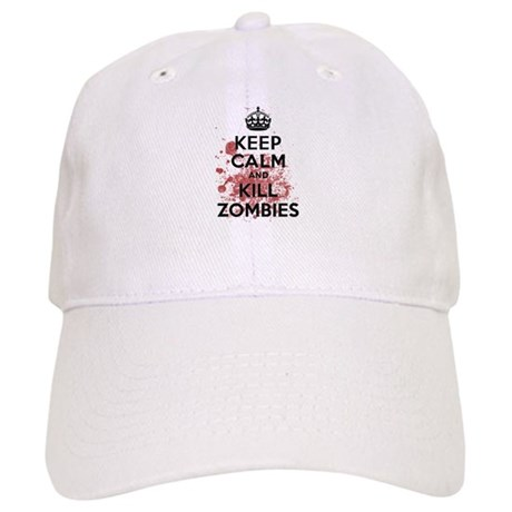 Keep Calm and Kill Zombies Cap