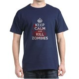 Keep Calm and Kill Zombies Tee-Shirt