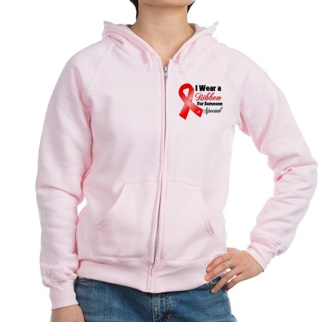 Special Blood Cancer Women's Zip Hoodie