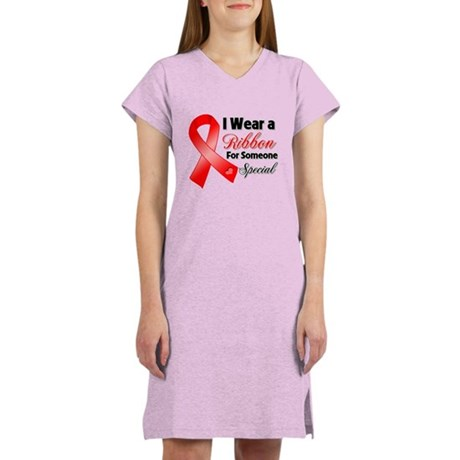Special Blood Cancer Women's Nightshirt