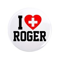 "I Love Roger 3.5"" Button (100 pack)"