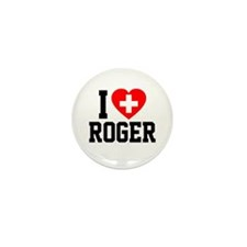 I Love Roger Mini Button (10 pack)