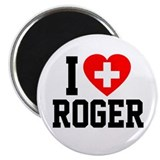 I Love Roger 2.25&quot; Magnet (10 pack)