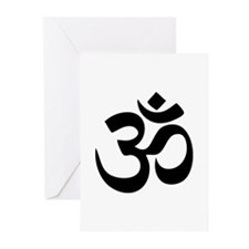 Om Aum Greeting Cards (Pk of 20)