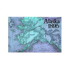 Alaska 1895 Rectangle Magnet