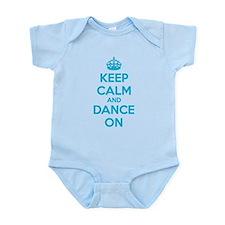 Keep calm and dance on Infant Bodysuit