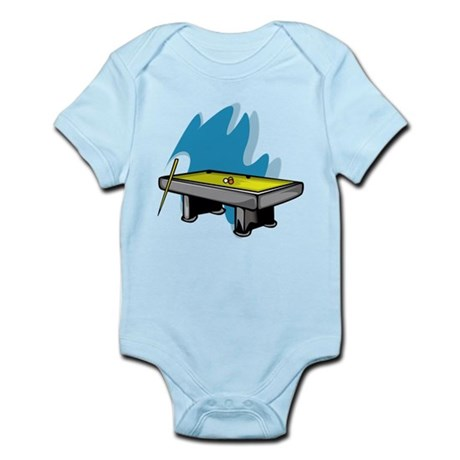 Pool Game Infant Bodysuit