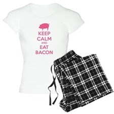 Keep calm and eat bacon Pajamas