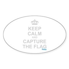 Keep Calm and Capture The Flag Decal