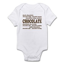 Chocolate Infant Creeper