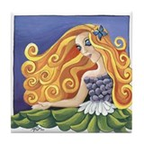 Goddess of Spring Tile Coaster