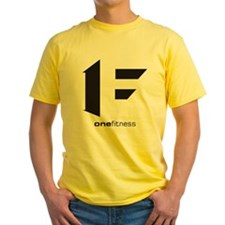 one fitness Yellow T-Shirt