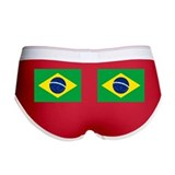 Brazil Flag Women's Boy Brief