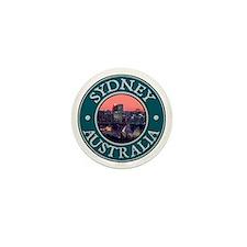 Sydney, Austrailia Mini Button