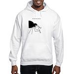 He eats the bones Hooded Sweatshirt