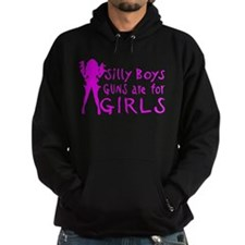 GUNS ARE FOR GIRLS Hoodie