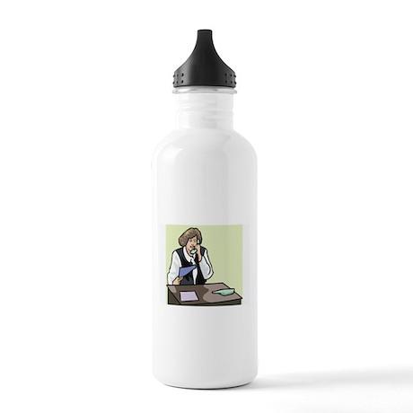 Teacher Stainless Water Bottle 1.0L