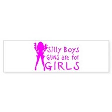 GUNS ARE FOR GIRLS Stickers
