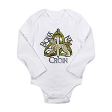 Funny Triquetra Long Sleeve Infant Bodysuit