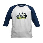 Blue Swedish Ducklings Kids Baseball Jersey