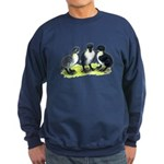 Blue Swedish Ducklings Sweatshirt (dark)