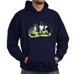 Blue Swedish Ducklings Hoodie (dark)