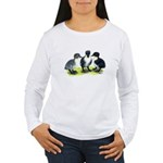 Blue Swedish Ducklings Women's Long Sleeve T-Shirt