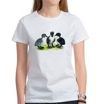 Blue Swedish Ducklings Women's T-Shirt