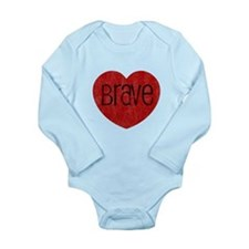 Cute Silver Long Sleeve Infant Bodysuit